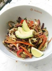 home made detox salad