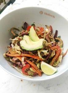 home made detox salad