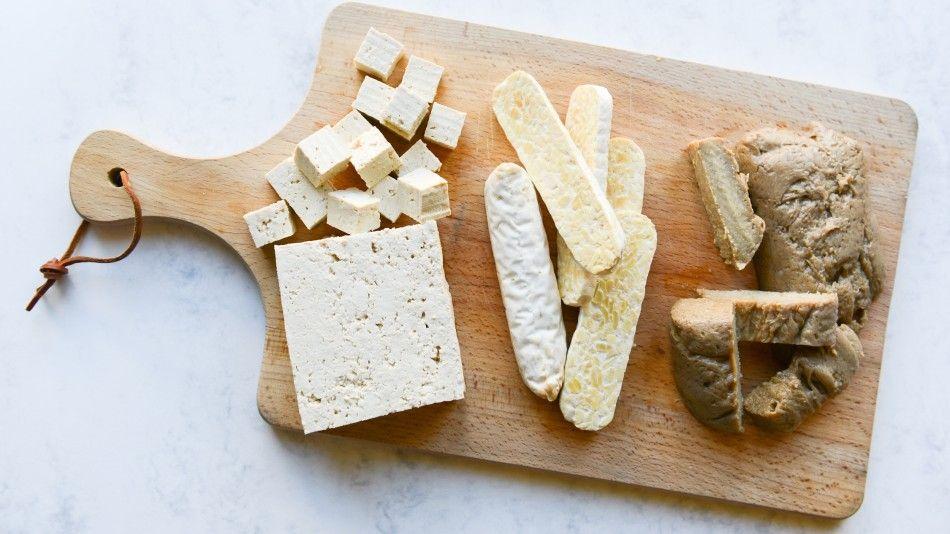tofu tempeh seitan