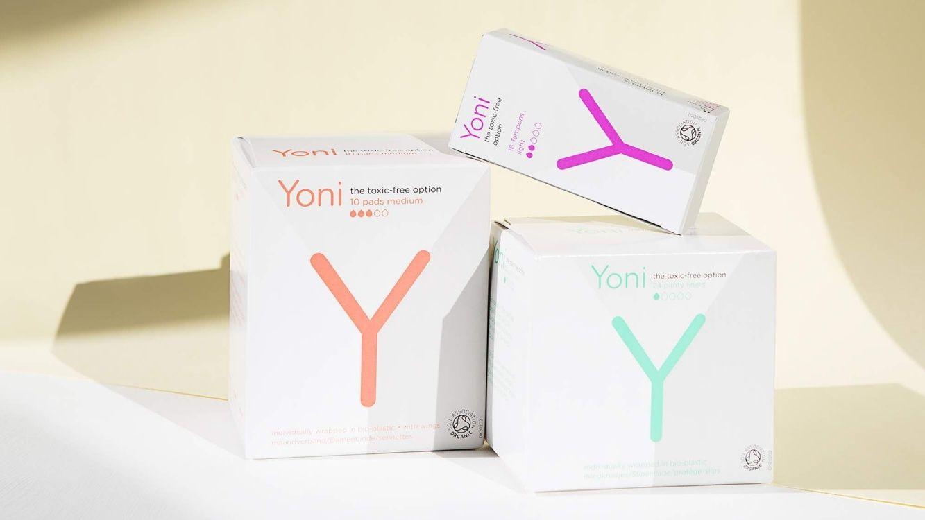 Yoni toxic free tampons maandverband