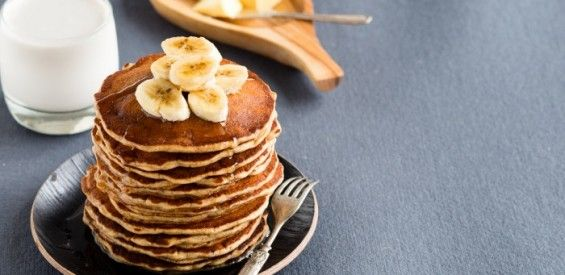 Recept: bananen pannenkoeken van gekiemd speltmeel