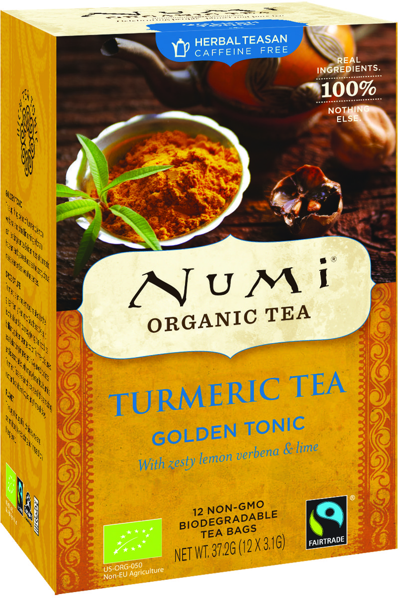 Turmeric Golden Tonic Numi kurkuma thee trend