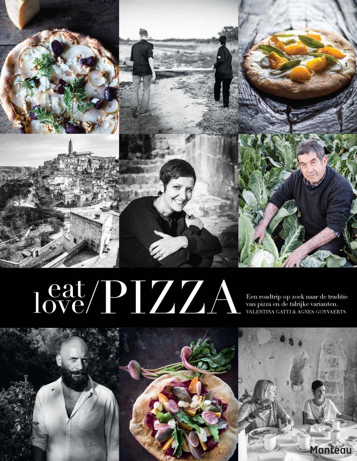 Cover Eat love pizza veggie pizza recept