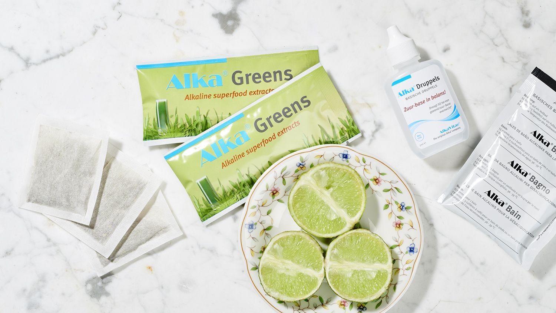 Alka greens zuur base