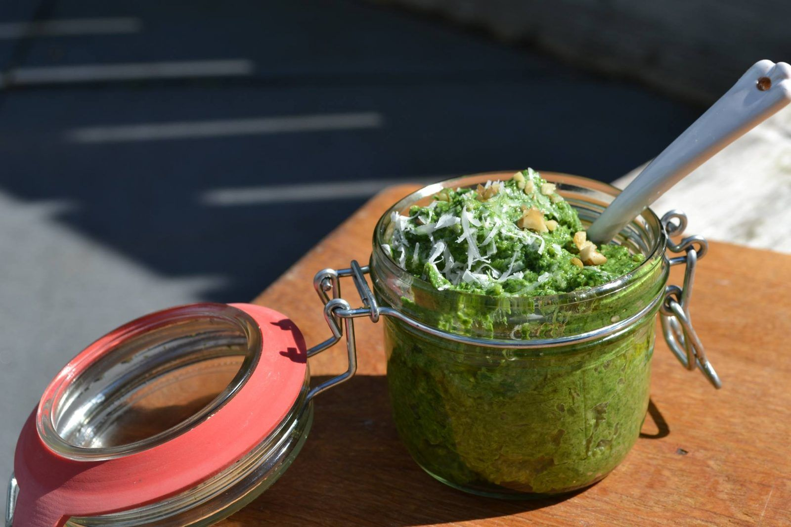 brandnetel pesto friesland recept foodie
