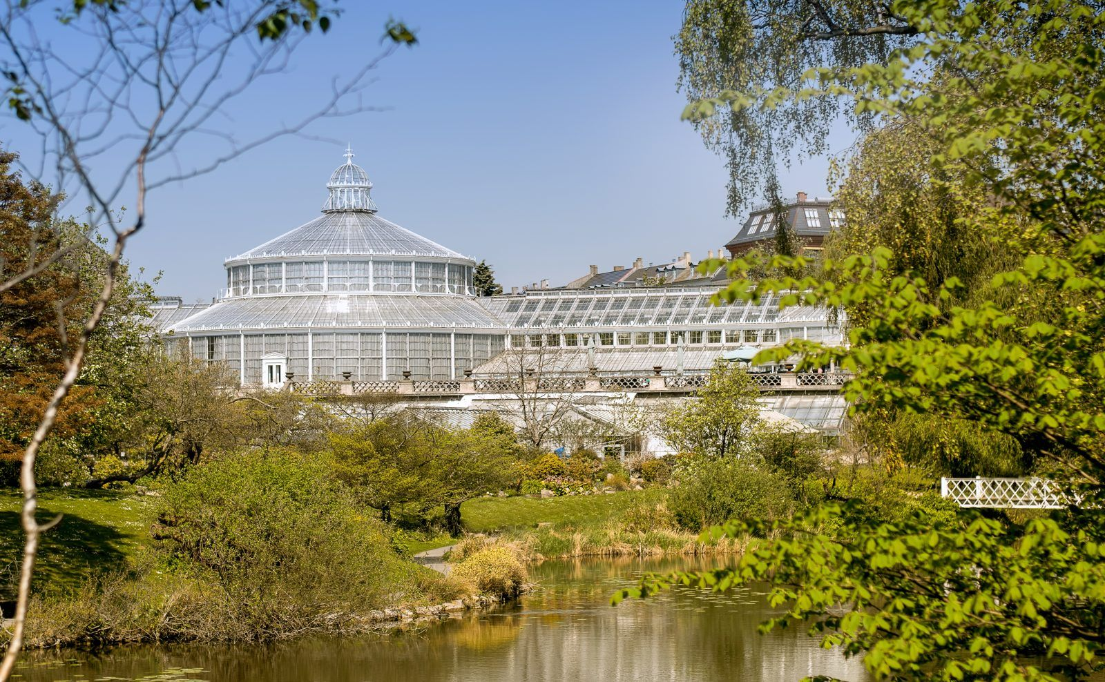 Botanische tuin kopenhagen hotspots