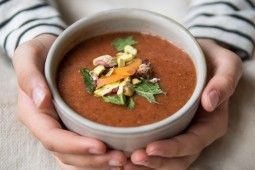 recipe Soup Colette Nickerson Roots Amsterdam raw food chef Clean eating
