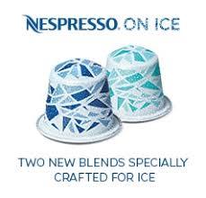 nespresso ice coffee