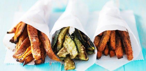 Gezonde snacks: dít zijn onze hacks voor patat, pizza en ijs