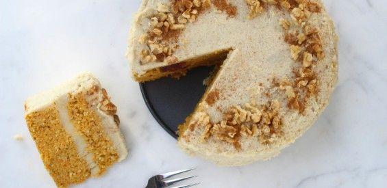 Recept: Sanne's verrukkelijke vegan carrot cake met cashew crème