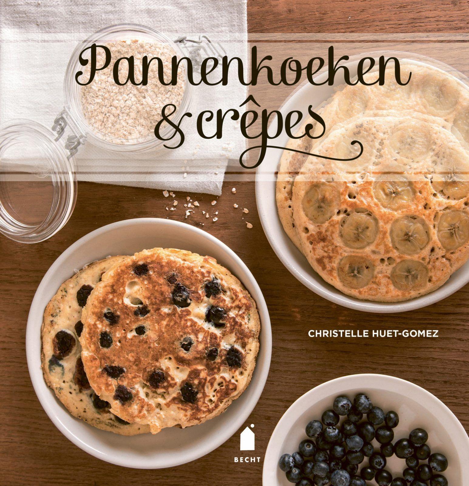 zoete crepe, kookboek, pannenkoeken en crepes