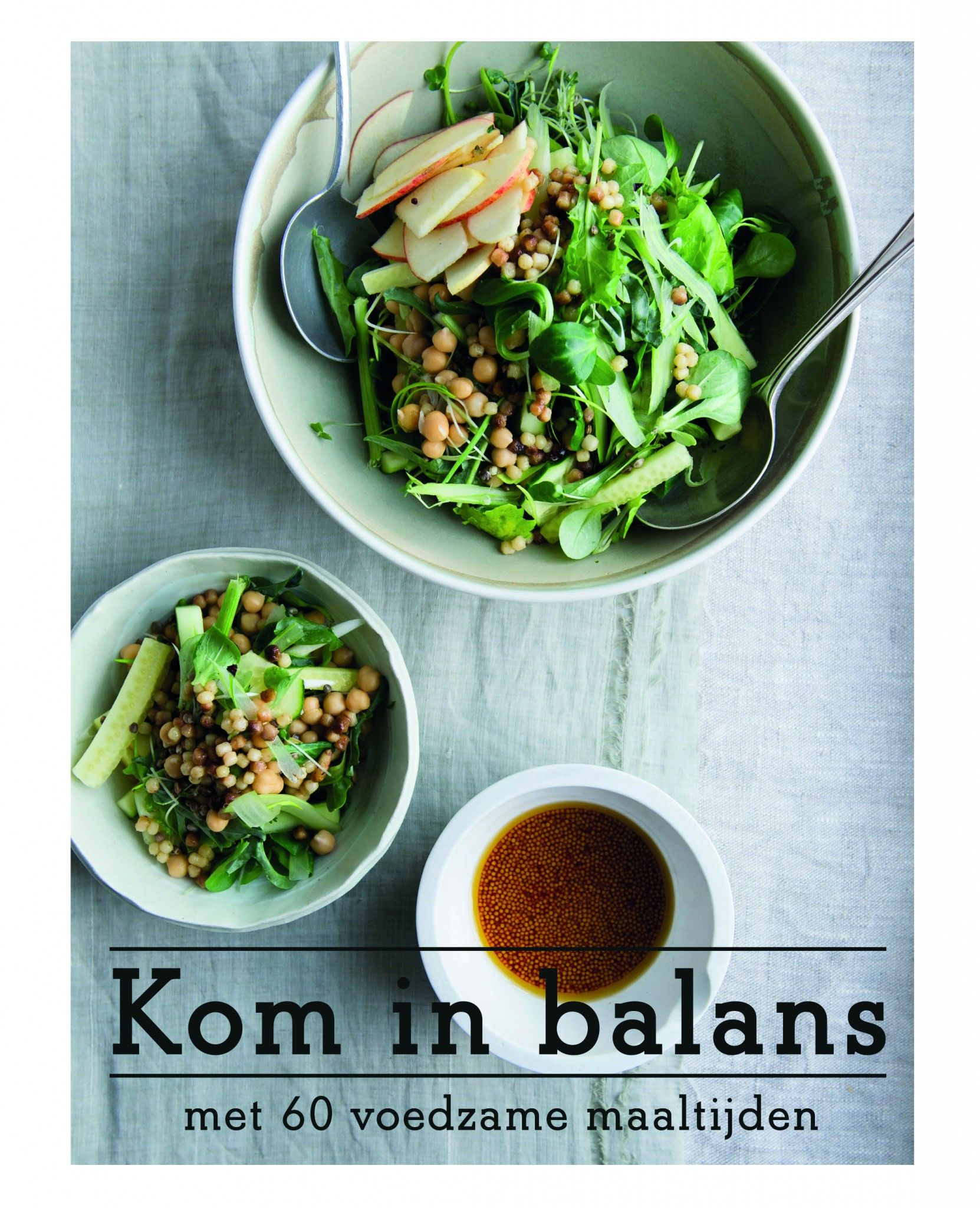 Kom in balans, kookboek cover