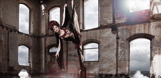 Simone Heitinga, Aerial Silk
