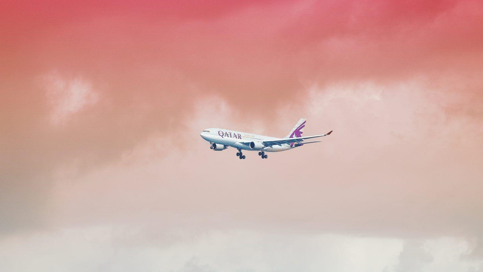 gezond vliegen, qatar airways