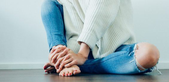 voeten masseren organen