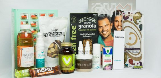 Dit wil je: bomvolle Healthbox by Arie Boomsma & Holistik t.w.v €135
