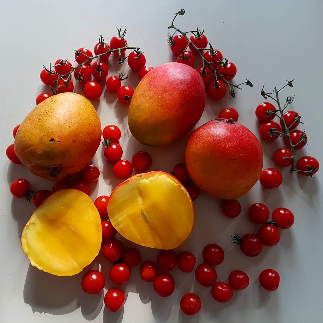 Mees vullings, fruitarier