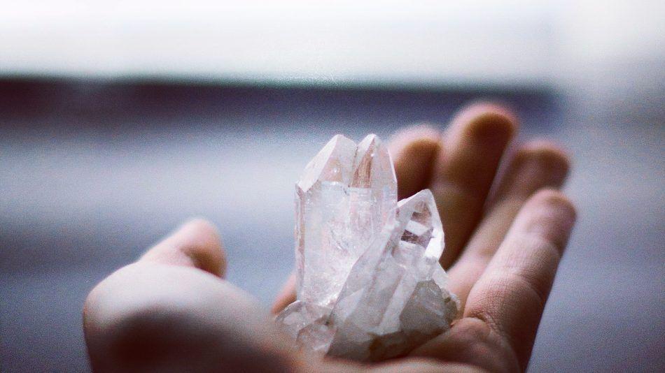 kristallen schoonmaken