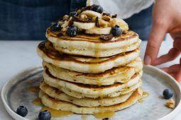 Easy Vegan American pancakes
