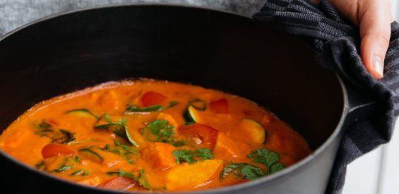 Easy Vegan Zoete aardappelstoofpot