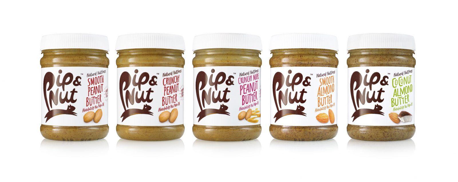 Pip & Nut pindakaas en amandelpasta