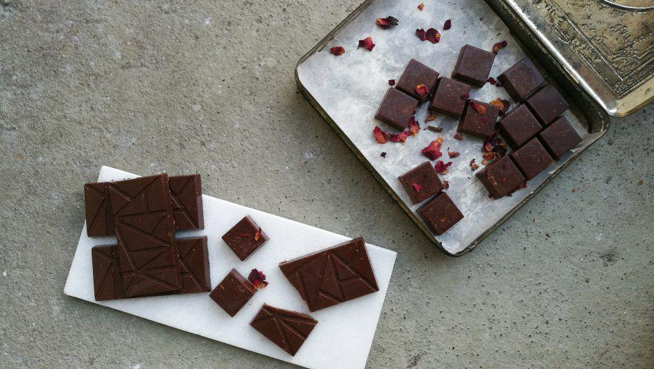 zelf chocola maken raw