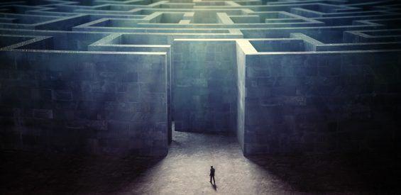 labyrint, doolhof, spirituele betekenis