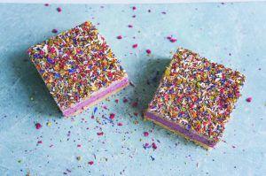 Sharp Sharp vegan treats sweats taartjes kleurrijk