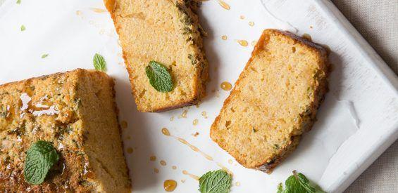 Recept volgens het FODMAP-dieet: citroen-muntcake