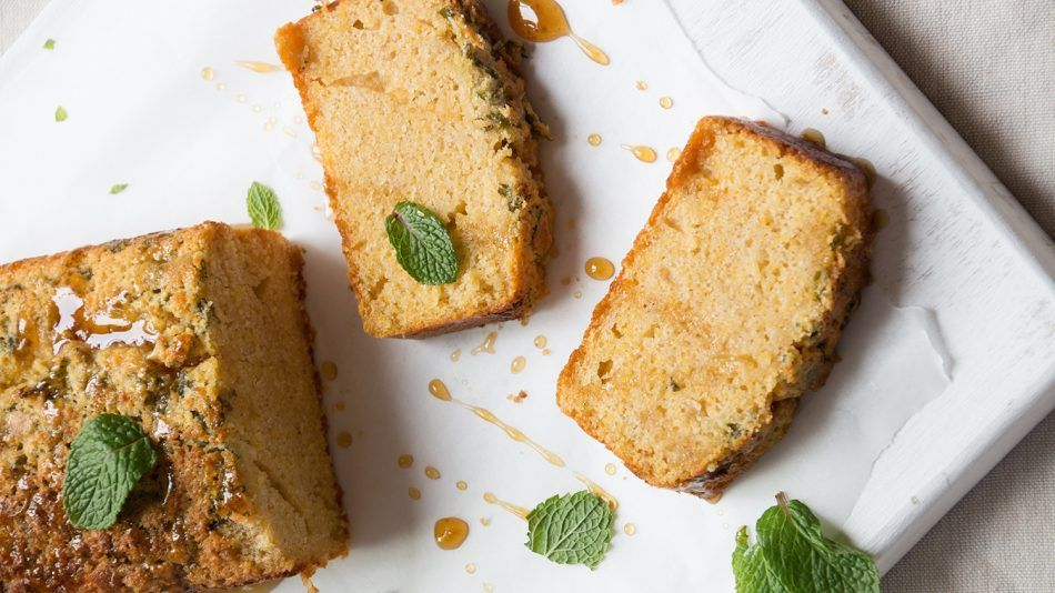 FODMAP-dieet recept citroen-muntcake
