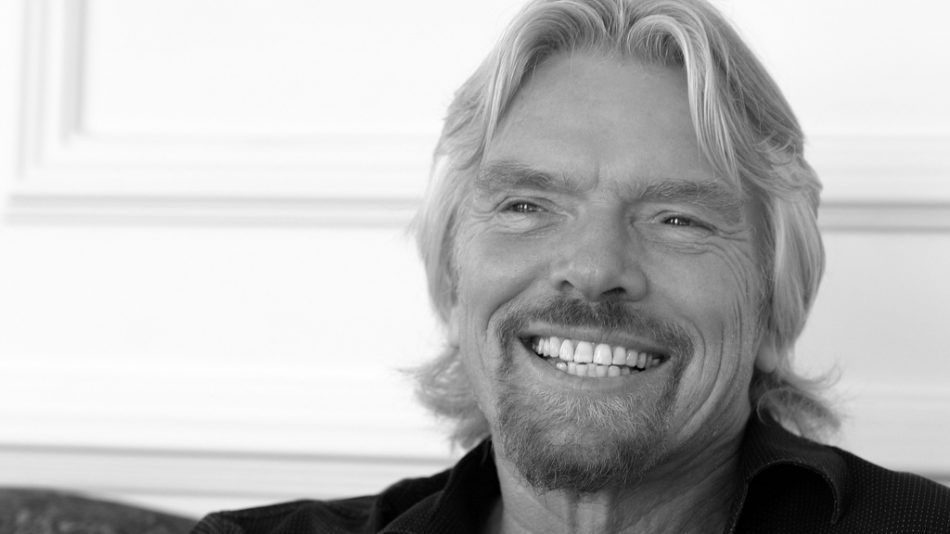 Richard Branson geluk