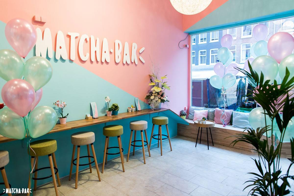 Matcha Bar Amsterdam matcha cookies