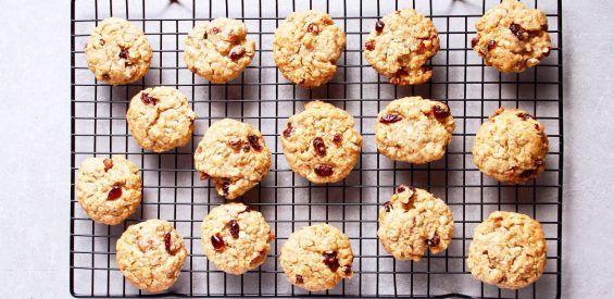 Recept: gezonde Dr. Bircher muesli koekjes met ginger twist
