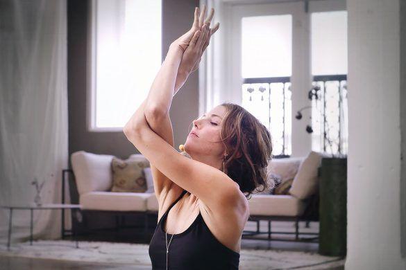 Erica Jago the house of yoga