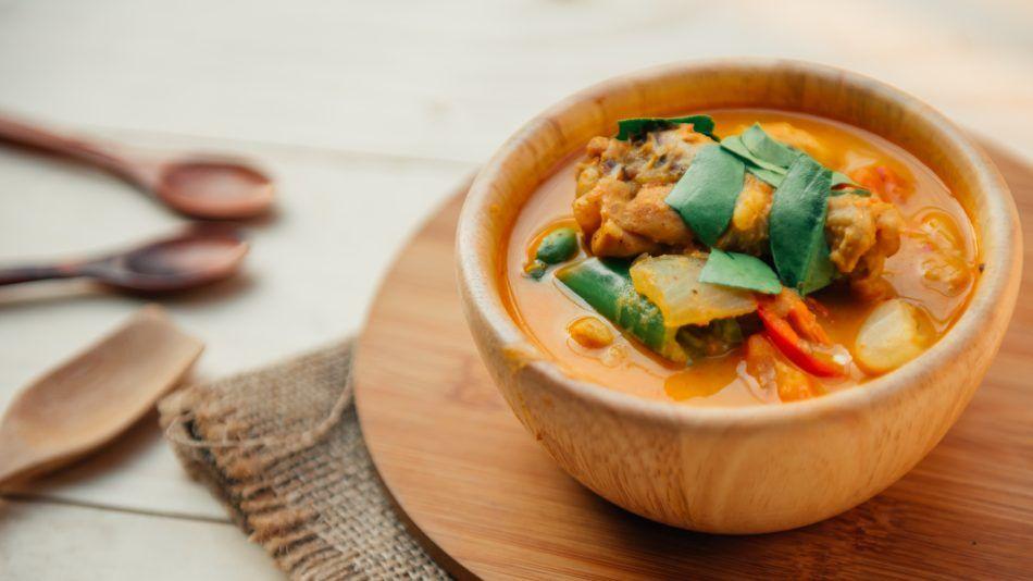 eilandkeuken texel, thaise curry
