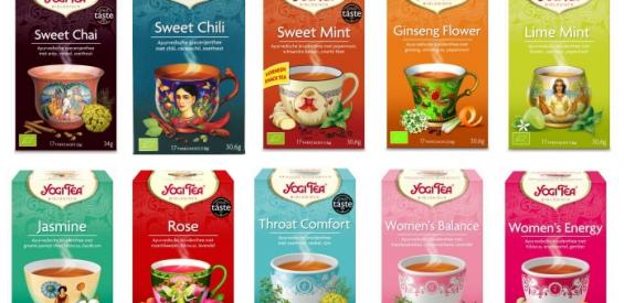Theeleuten opgelet: win 1 jaar lang biologische Yogi Tea t.w.v. €171