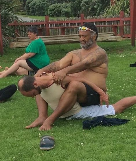Maori healing, bodywork, Volker Moritz