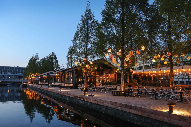 Strand zuid, restaurant amsterdam