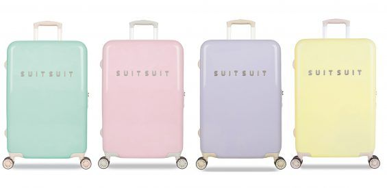 suitsuit koffer trolley reizen vakantie