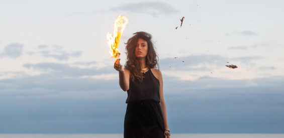 vuurvrouw watervrouw