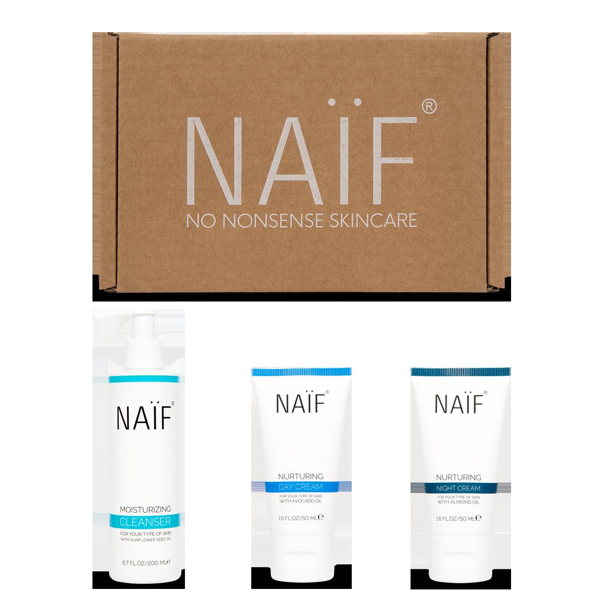 Naif glow win skincare