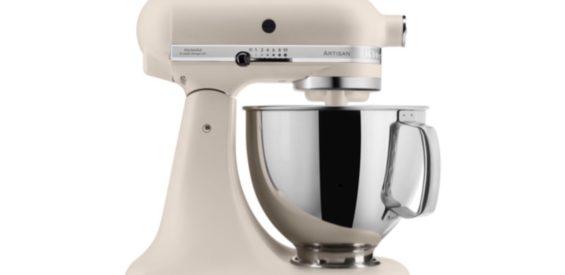 Verlopen – WIN: roomkleurige keukenmixer van KitchenAid t.w.v. €529