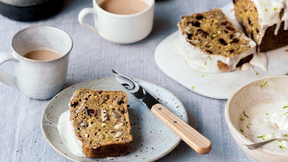 courgette cake, gezond, recept