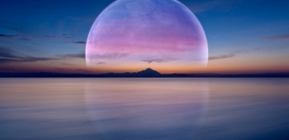 volle maan meditatie