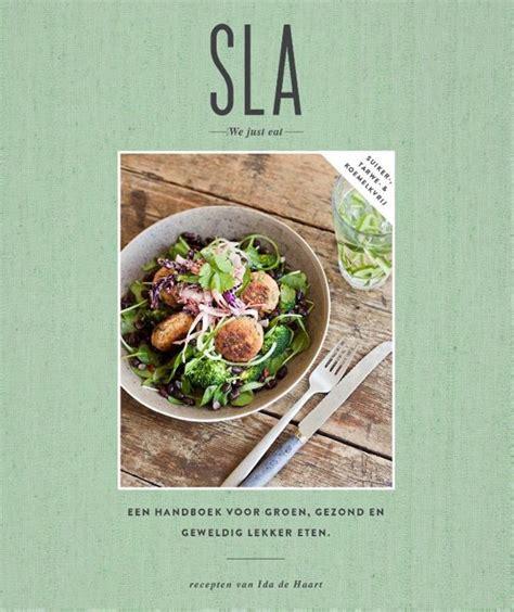 recept van Ida de Haart gaat, uit het kookboek 'SLA'