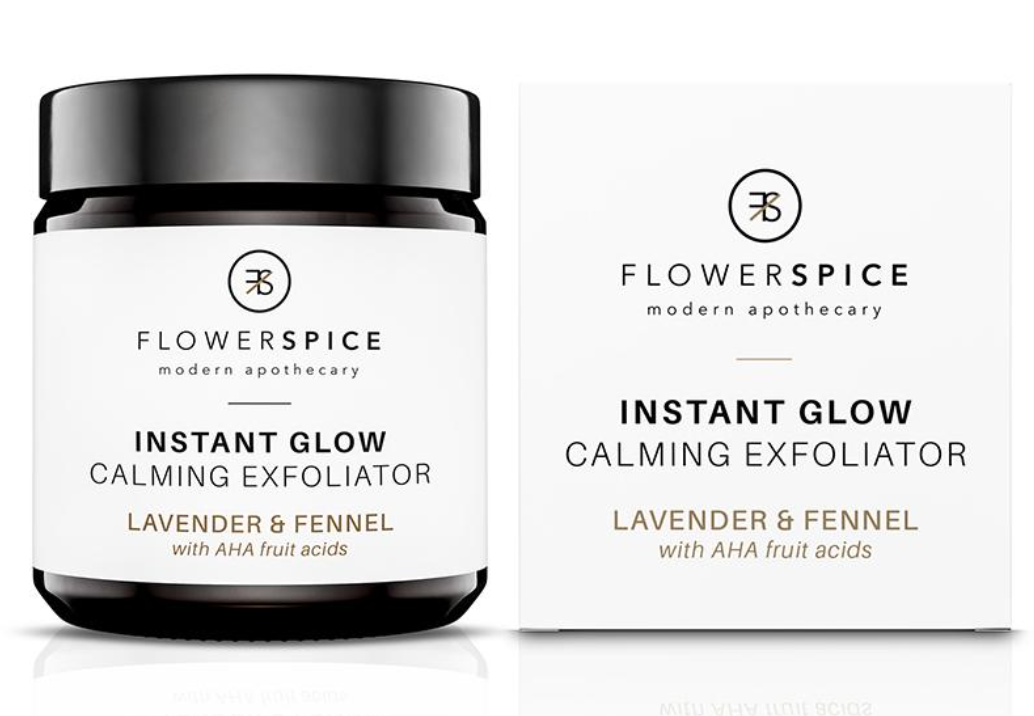 Flower and Spice Instant Glow Exfoliater