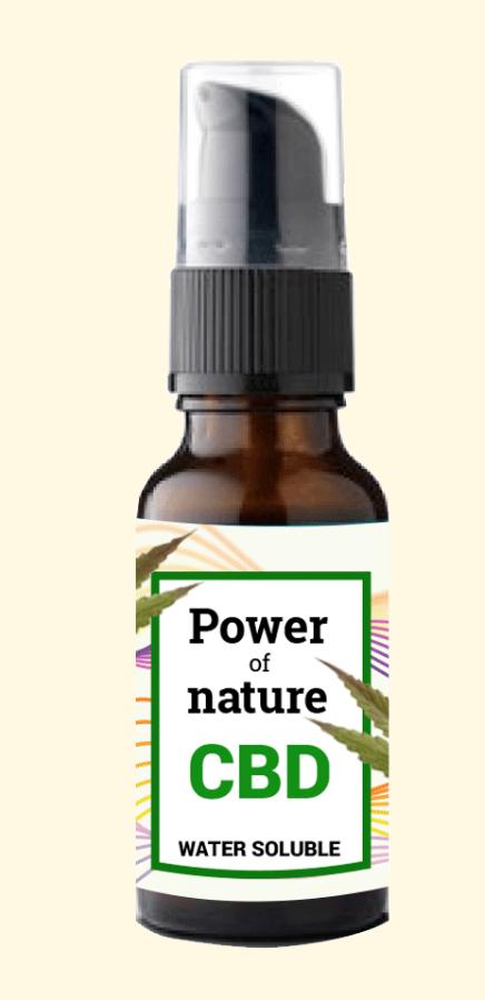 CBD olie, hennep, cannabis, power of nature