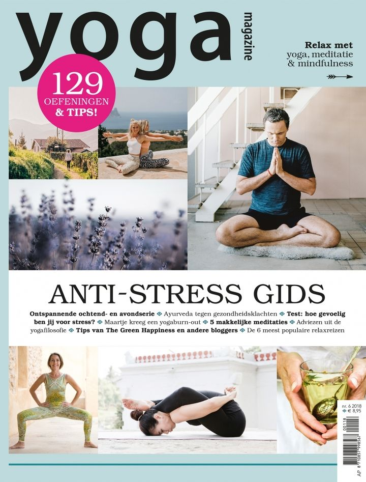 anti-stress special yoga magazine