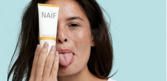 naif, no-nonsense skincare, vrouwen, volwassen