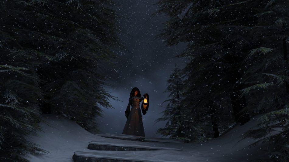 zonnewende, winter ritueel